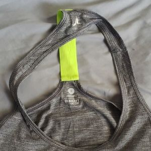 Old Navy Tops - Green and Lime Green Racerback Tank